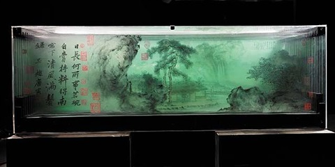 ancient landscape of tang yin by xia xiaowan