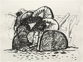 gulf by philip guston