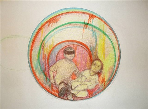 children in circles by maia naveriani