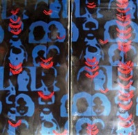blueprint 6/7 (diptych) by gurpran rau