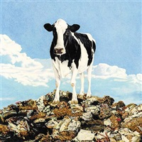cows on garbage iii by don simon