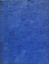 la 3 (blue) by shirley goldfarb
