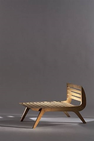 "chaise « tokyo » / ""tokyo"" chair by charlotte perriand"