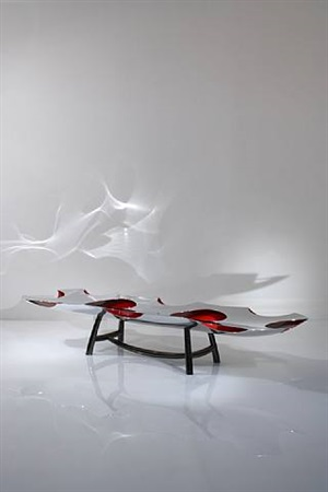 table basse b.o.o.p. (blown out of proportion) / low table b.o.o.p. (blown out of proportion) by ron arad
