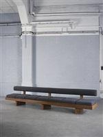 banquette sandoz / sandoz bench by charlotte perriand