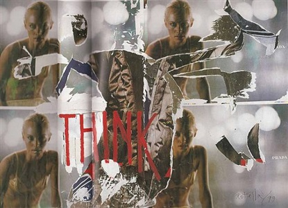 think by mimmo rotella