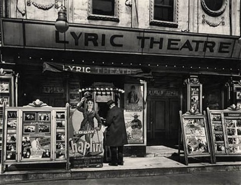 lyric theater, new york by berenice abbott