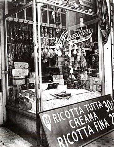 cheese store, new york by berenice abbott