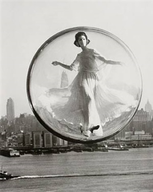 over new york by melvin sokolsky