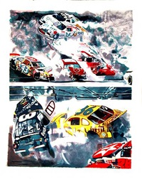 death of dale earnhardt by malcolm morley