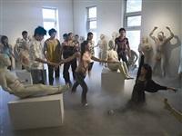 dancing as smoke and clouds by yu ji