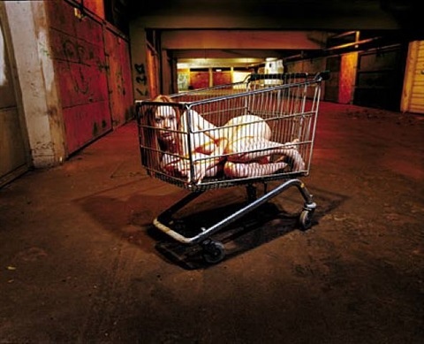girl in a trolley by rankin