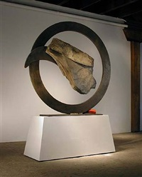 sisyphean circle - beijing series xii by john van alstine
