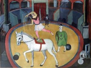 scene de cirque by celso lagar