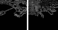 hudson river diptych by yvonne jacquette