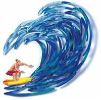 surfer by david gerstein