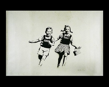 london new york bristol in association with mount street galleries by banksy