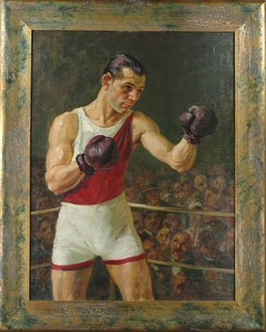 olympic boxer by gyula meresz muller
