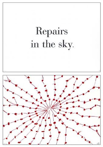repairs in the sky by louise bourgeois