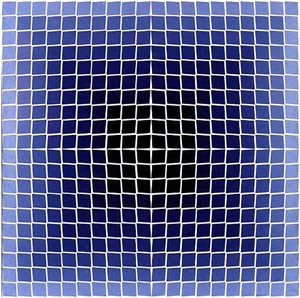 quasar ii by victor vasarely