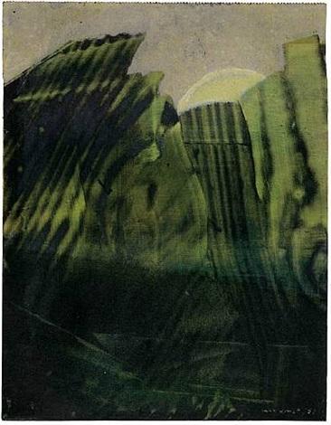 ohne titel (la forêt) by max ernst