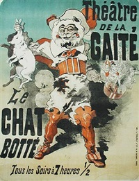 theatre de la gaite by jules chéret