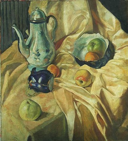 still life (russia) by eugene berman