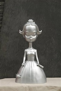 sparkler (silver) by zhang hui