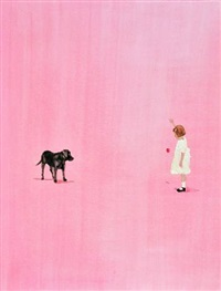 painted room (lucky puppy) by darlene cole