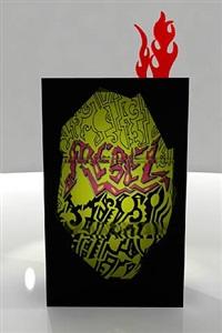 rebel bookshelf by antonio cagianelli