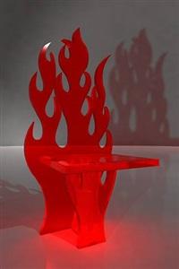 diabolique chair by antonio cagianelli