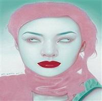 chinese girl series no. 17 by feng zhengjie