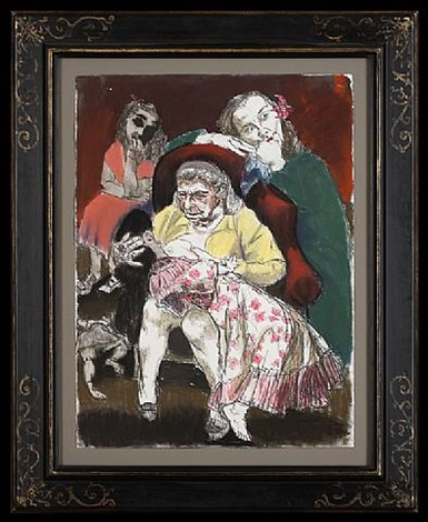 the grandmother by paula rego