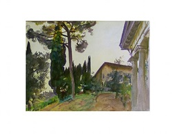 corfu (sold) by john singer sargent