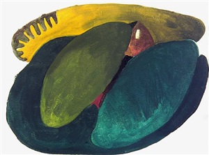 landscape with barn (sold) by arthur dove