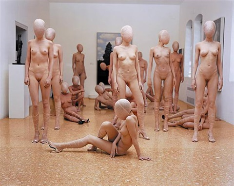 vb 47(vb 47.378.dr) peggy guggenheim collection, venice by vanessa beecroft