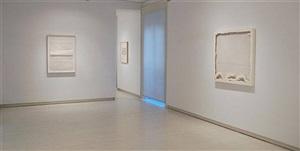 """off white"" installation view"