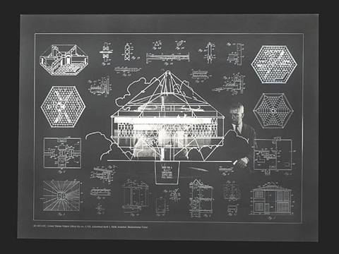 4d house from the portfolio inventions: twelve around one by buckminster fuller