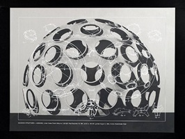 geodesic structures-monohex from the portfolio inventions: twelve around one by buckminster fuller