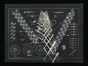 tensile-integrity structures tensegrity from the portfolio inventions: twelve around one by buckminster fuller