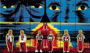 sea view by gilbert and george