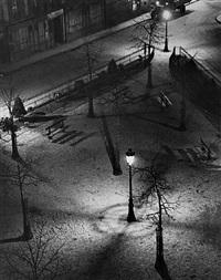 evening square, paris by andré kertész
