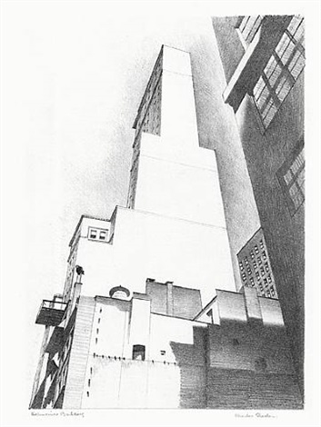 delmonico building by charles sheeler
