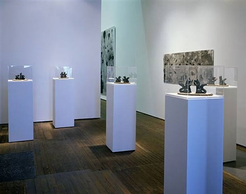 installation view by mario ybarra jr.