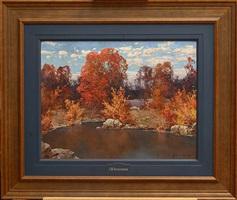 autumn by stepan feodorovich kolesnikov