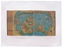the new world physical map, p2123 by hong hao