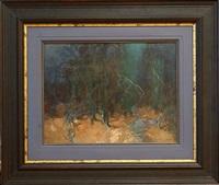dark woods by stepan feodorovich kolesnikov