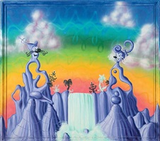 agua pollination by kenny scharf