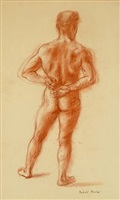nude male by reginald marsh