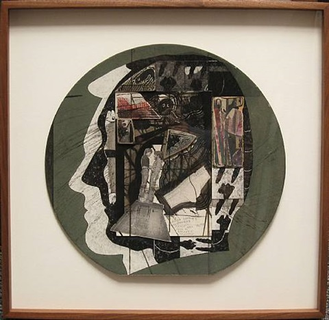 untitled (tab hunter william burroughs) by ray johnson